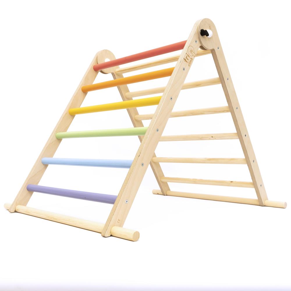 Triângulo Pikler TriClimb Arco-Íris Pastel Single