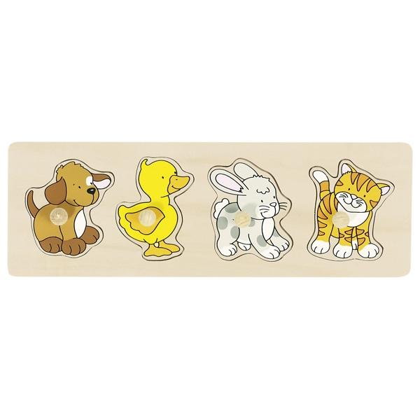 Puzzle de Encaixar Animais II - Goki