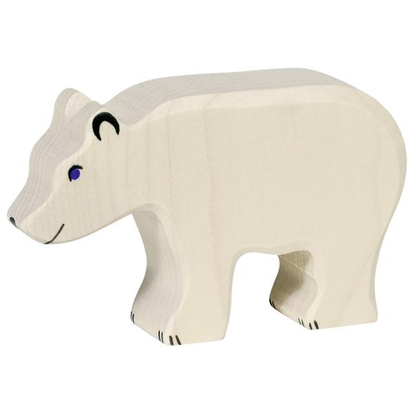 Urso Polar a Comer - Holztiger