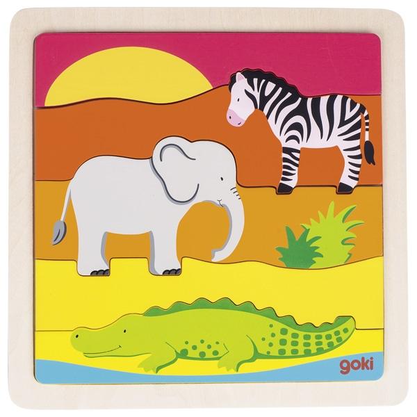 África Puzzle de Encaixar - Goki