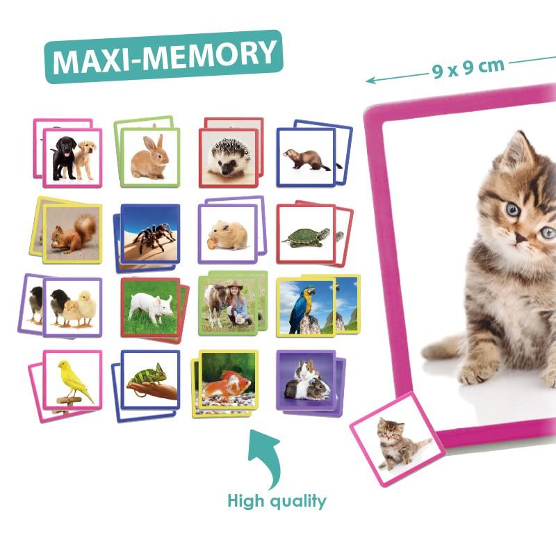 Jogo da Memória Maxi Animais de Estimação - Akros