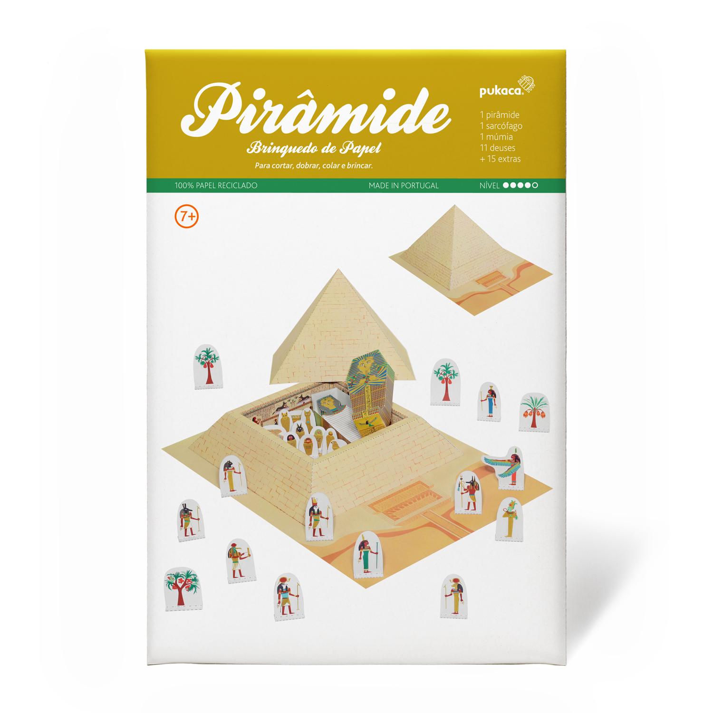 Pirâmide do Egito - Pukaca