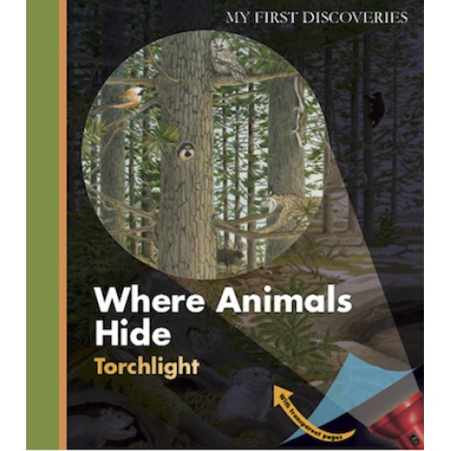 Onde se escondem os Animais - My First Discoveries