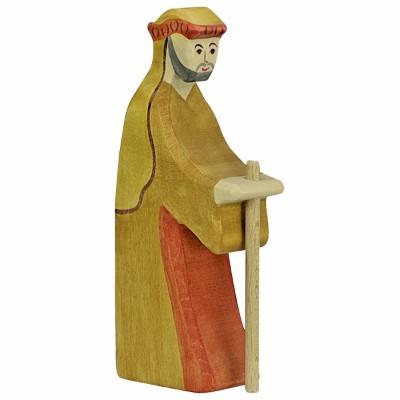 Pastor com Bastão II - Holztiger