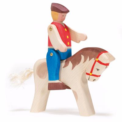 Cavaleiro e cavalo de saltos - Ostheimer