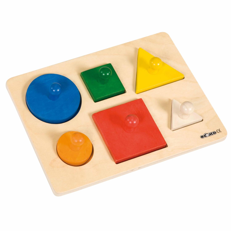 Puzzle de Formas - Educo