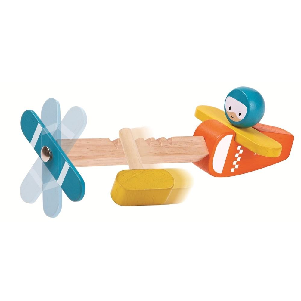 Avião Gira e Voa - Plan Toys