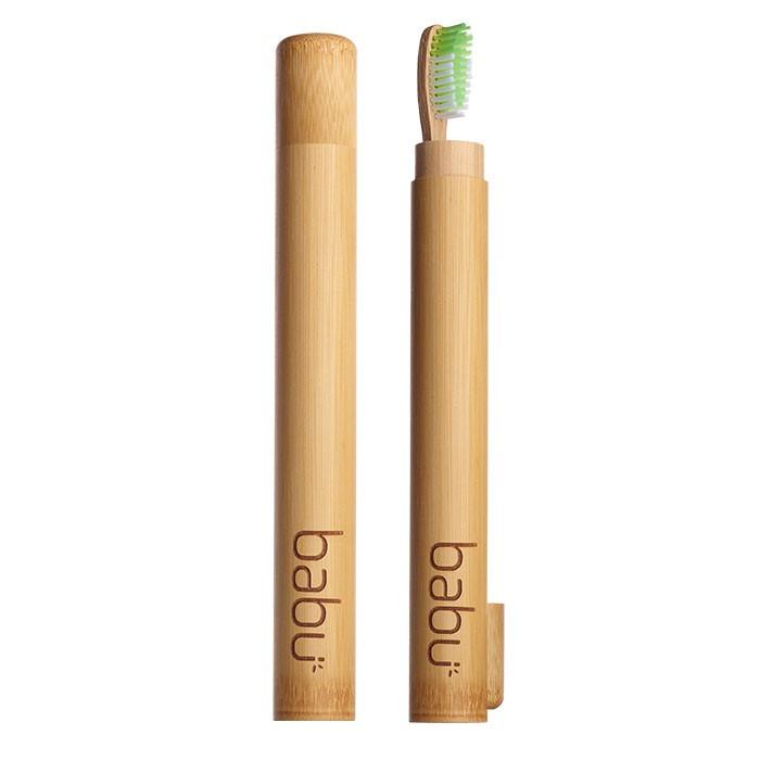 Cana de Bambú para Escova de Dente Adulto - Babu