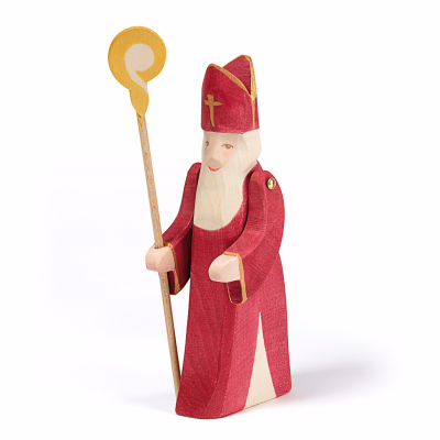 St Nicholas with Staff - Ostheimer