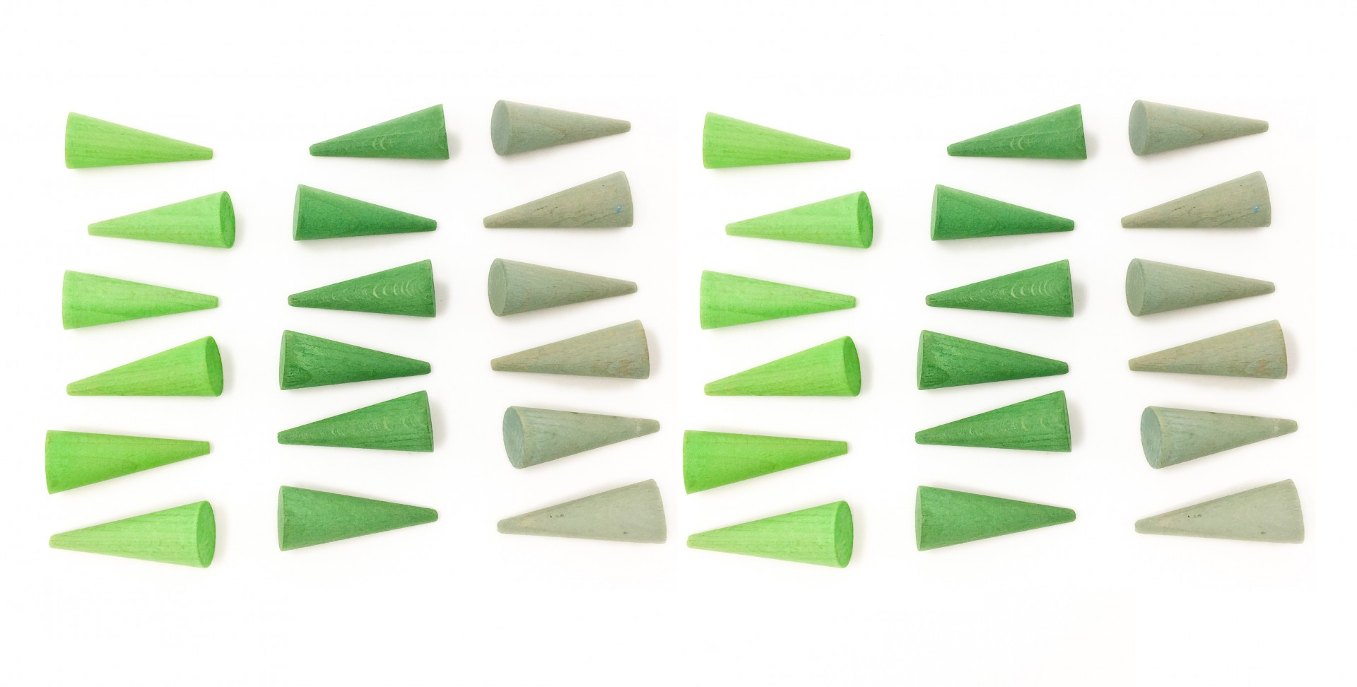 Cones Verdes Pequenos - Grapat