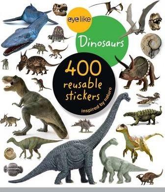 Dinossauros - Livro de Autocolantes Reutilizáveis