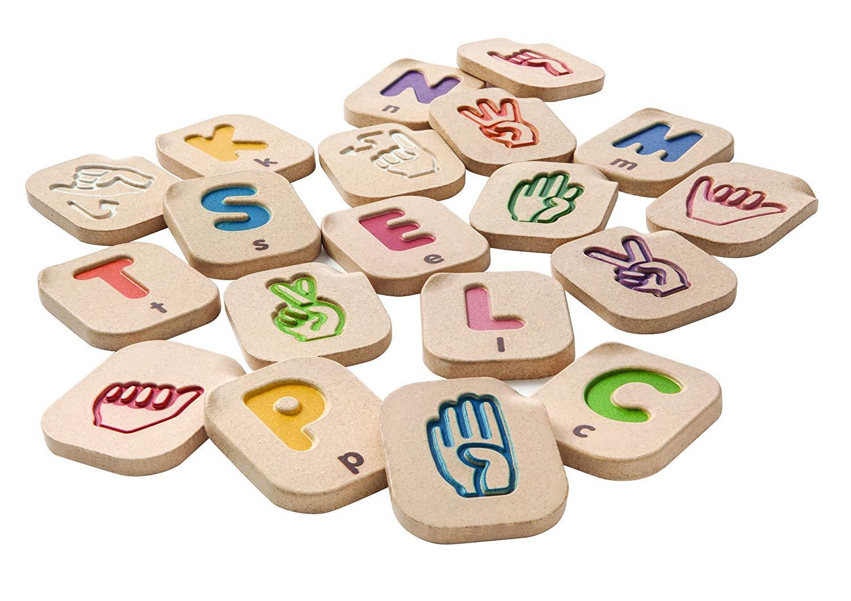 Alfabeto Linguagem Gestual - Plan Toys