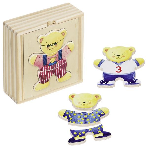 Caixa de vestir Pequena Urso - Goki