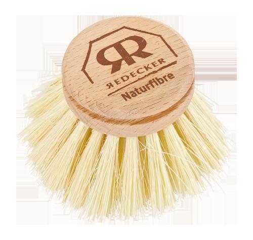 Cabeças Recarregáveis Escova Natural de Loiça - Redecker