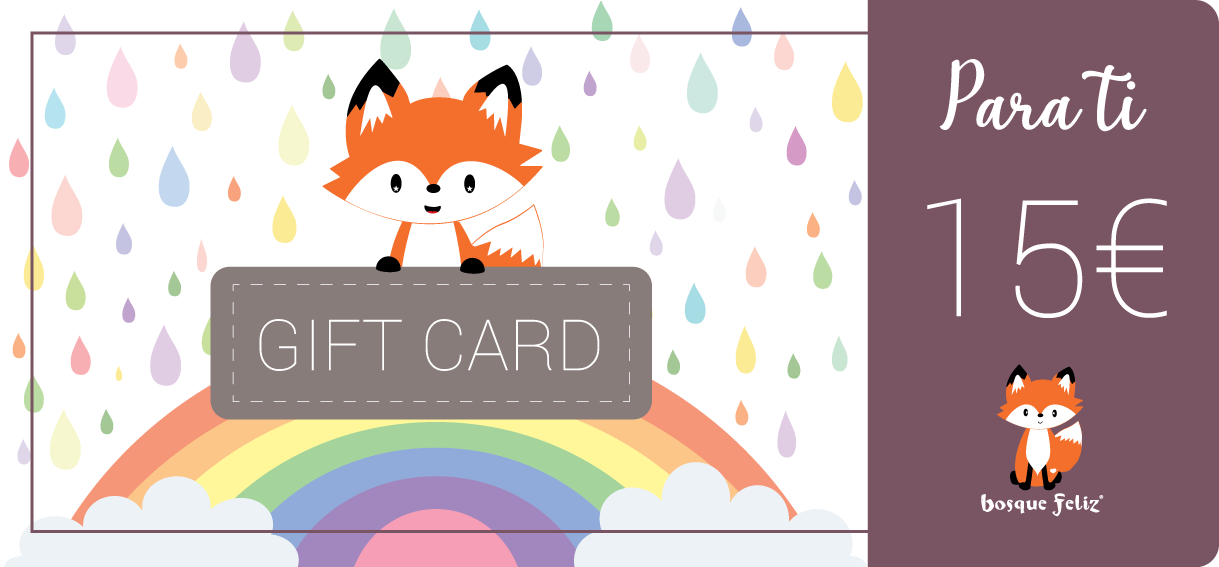 Gift Card 15€ - BOSQUE FELIZ
