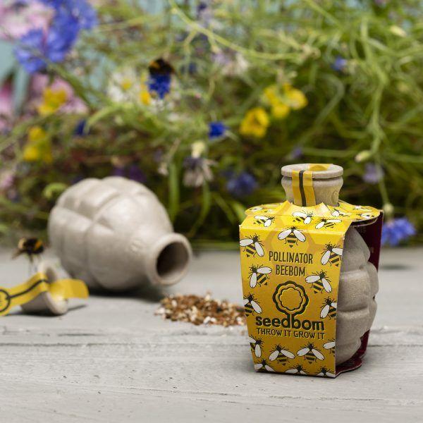 Pollinator Beebom - Bomba de Sementes