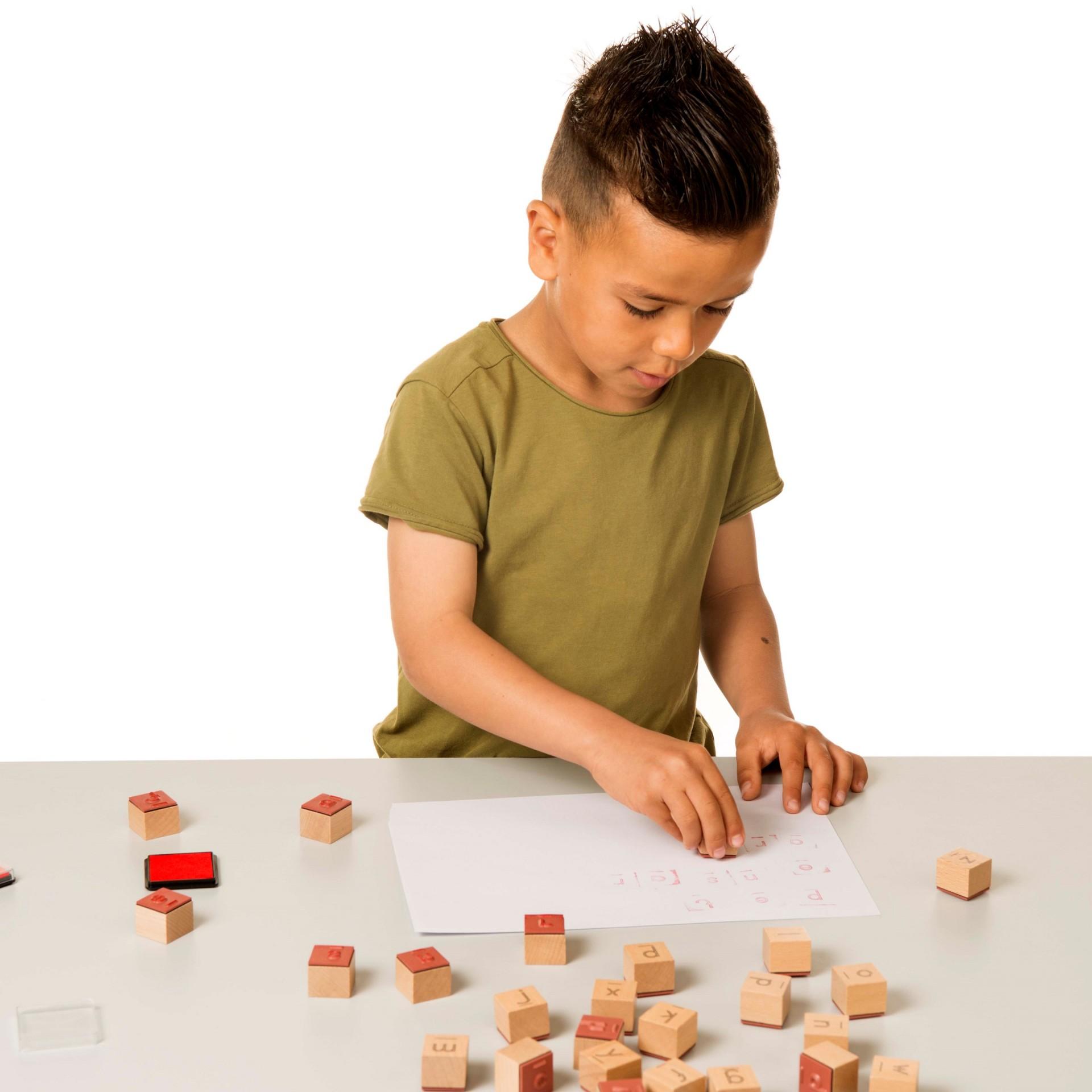 Carimbo de Letras - Toys For Life