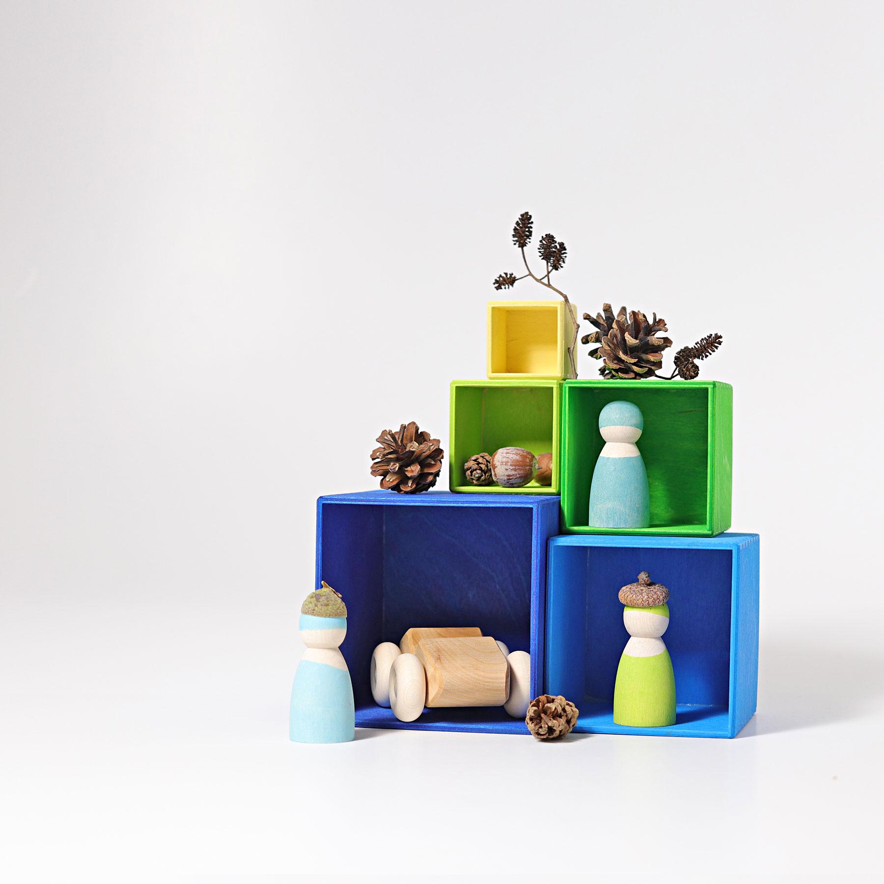 Caixas de Madeira Frio - Grimm's