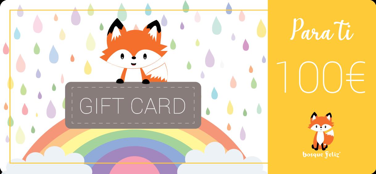 Gift Card 100€ - BOSQUE FELIZ