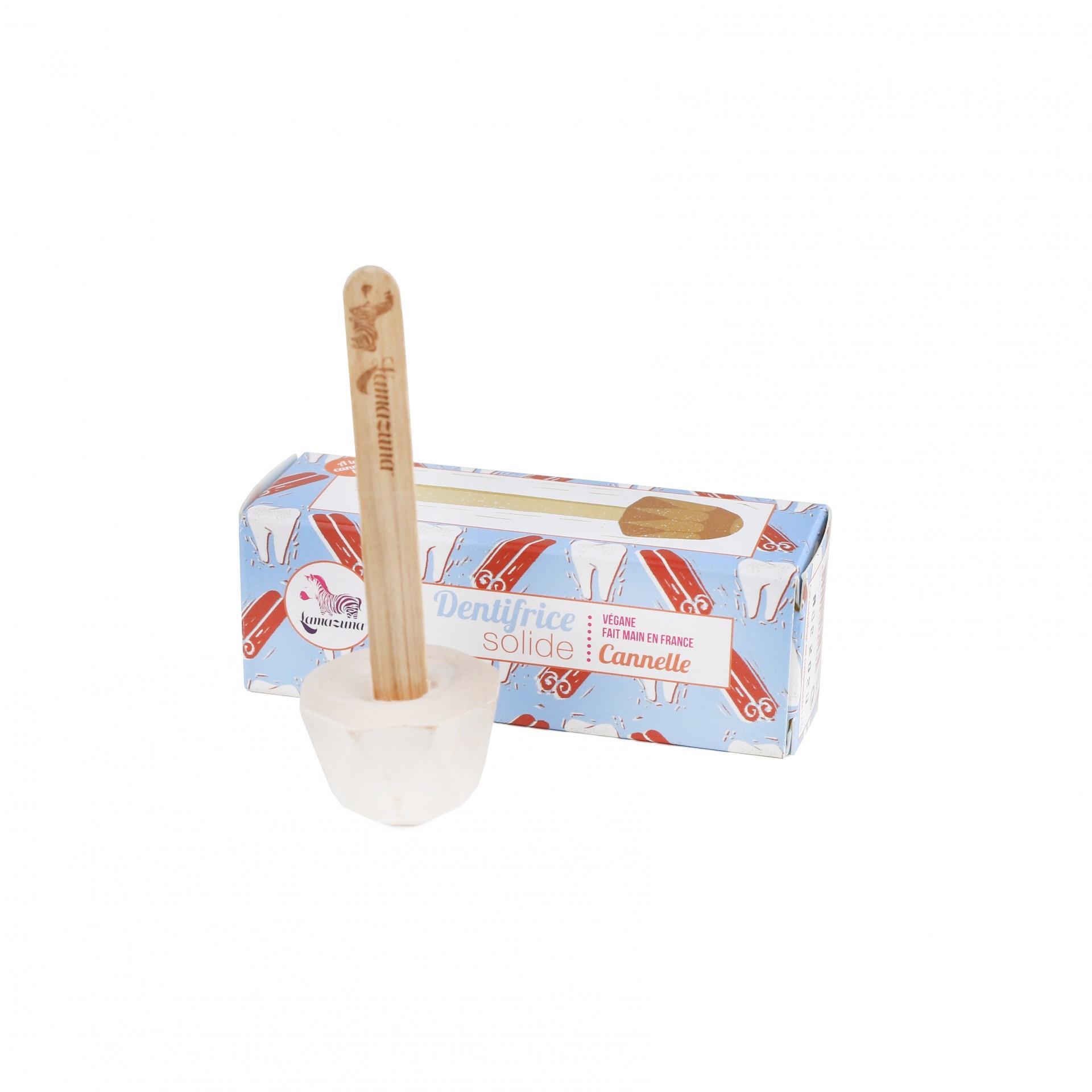 Pasta de Dentes Sólida de Canela - Lamazuna