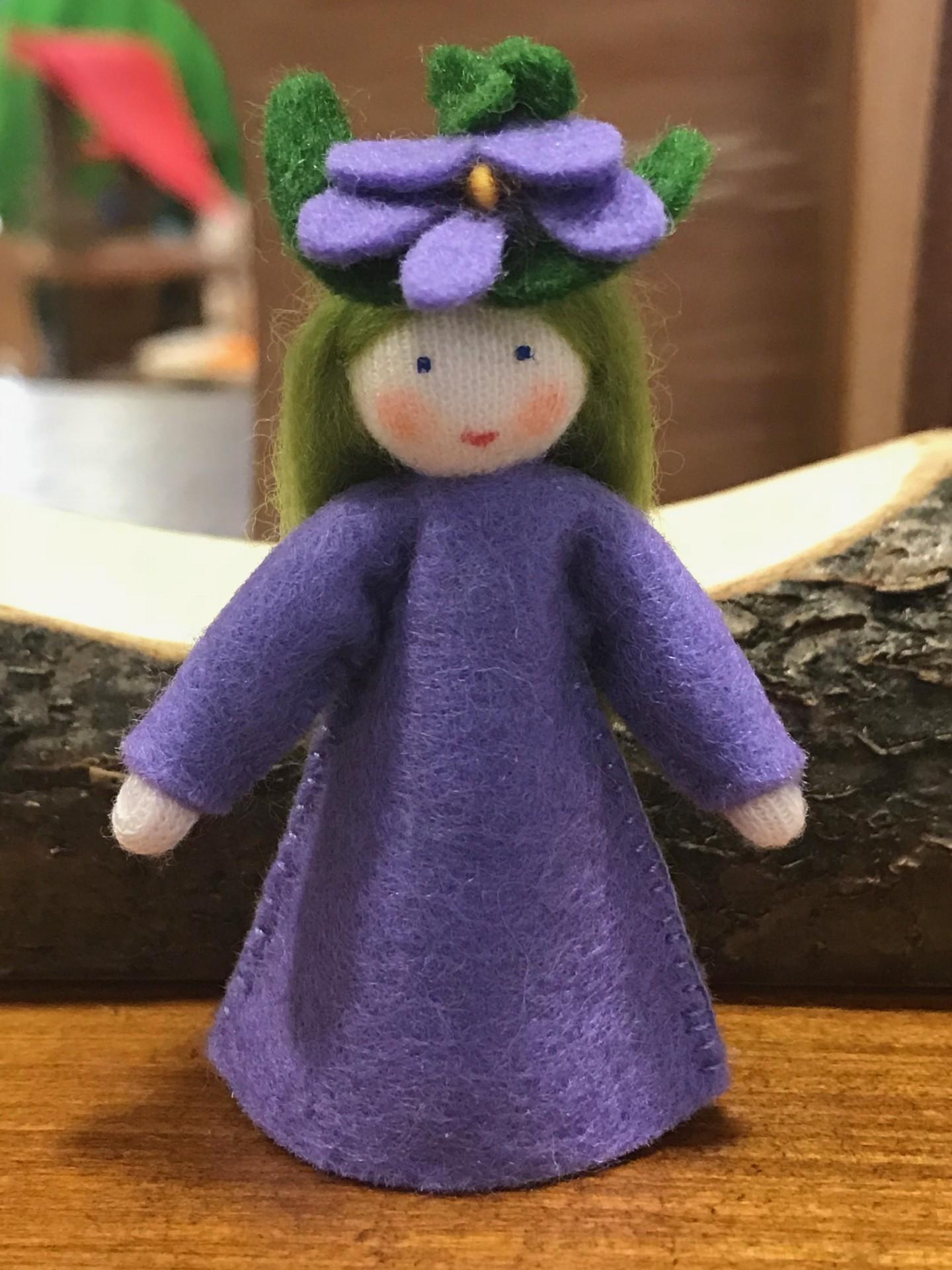 Boneca / Fada Violeta - Ambrosius