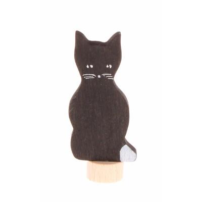 Gato Preto Figura Decorativa - Grimm's