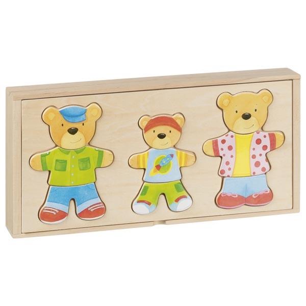 Caixa de vestir - ursos - Goki