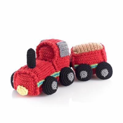 Peluche Crochet e Roca Comboio - Pebble