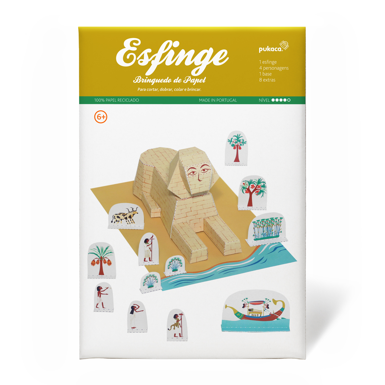 Esfinge do Egito - Pukaca