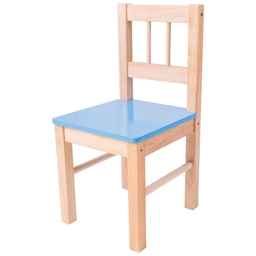 Cadeira de Madeira (Azul) - BigJigs