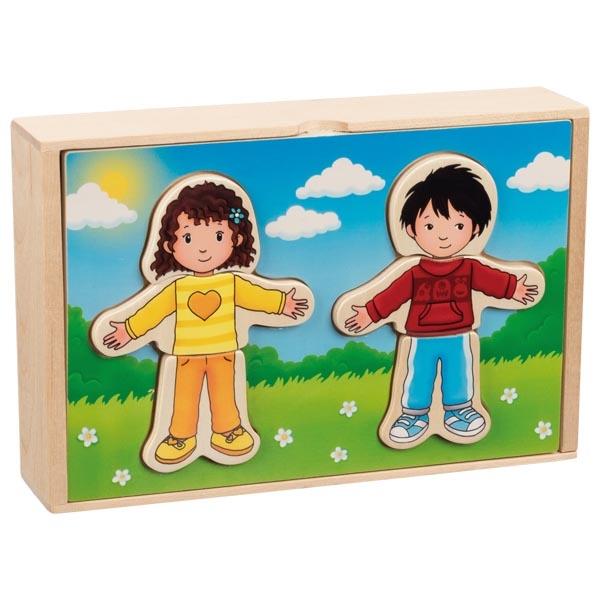 Caixa de vestir Crianças - Goki