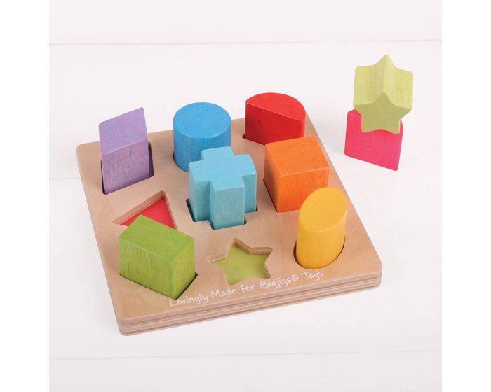 Puzzle de Formas e Cores