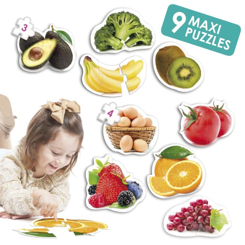 Puzzles Os Alimentos - Akros
