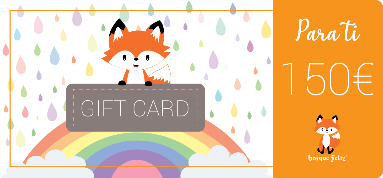 Gift Card 150€ - BOSQUE FELIZ
