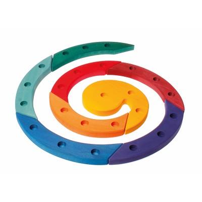 Espiral Aniversário e Advento Colorido - Grimm's