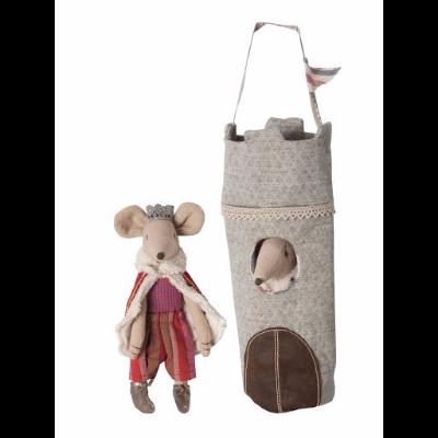 Ratinho Príncipe na Torre - Maileg