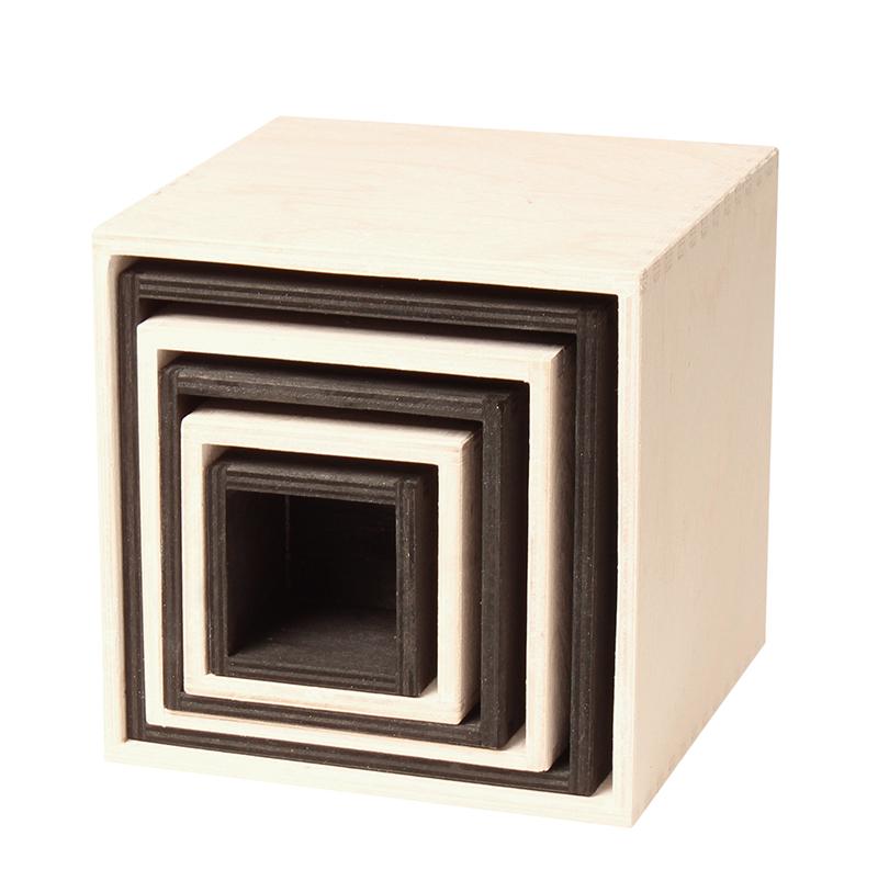 Cubos Grandes Preto e Branco - Grimm's