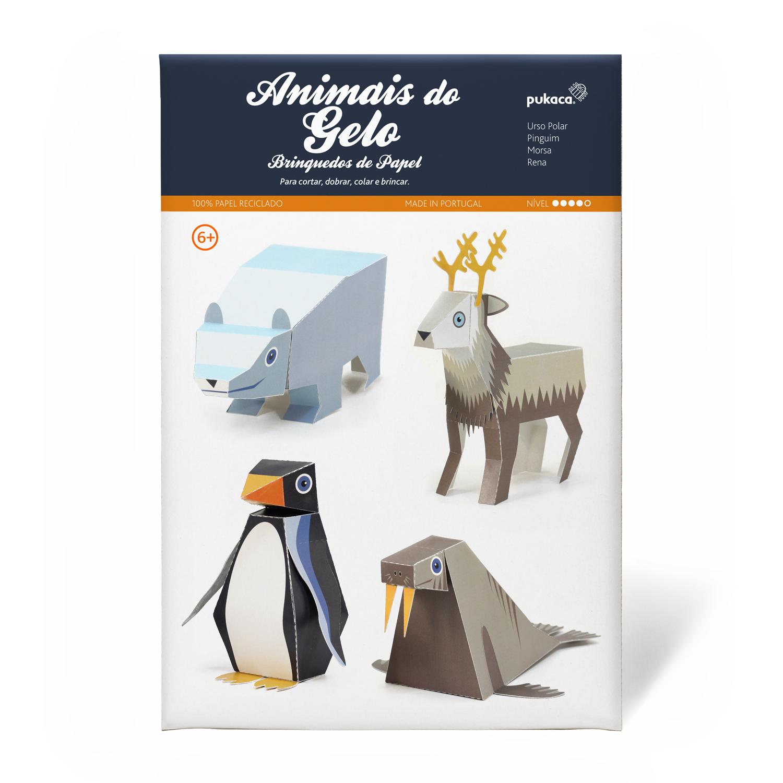 Animais do Gelo - Pukaca