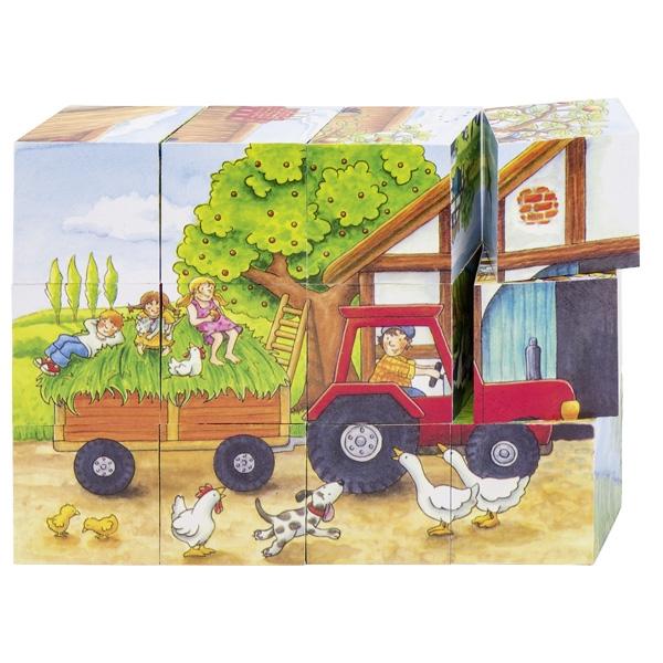Puzzle de Cubos As Estações na Quinta - Goki
