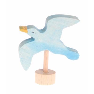 Decorative Figure Seagull, handcoloured - Grimm's