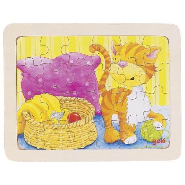 Puzzle de Peças Pequeno Gato - Goki