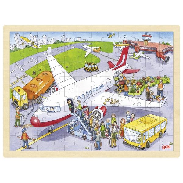Puzzle de Peças GRANDE Aeroporto - Goki
