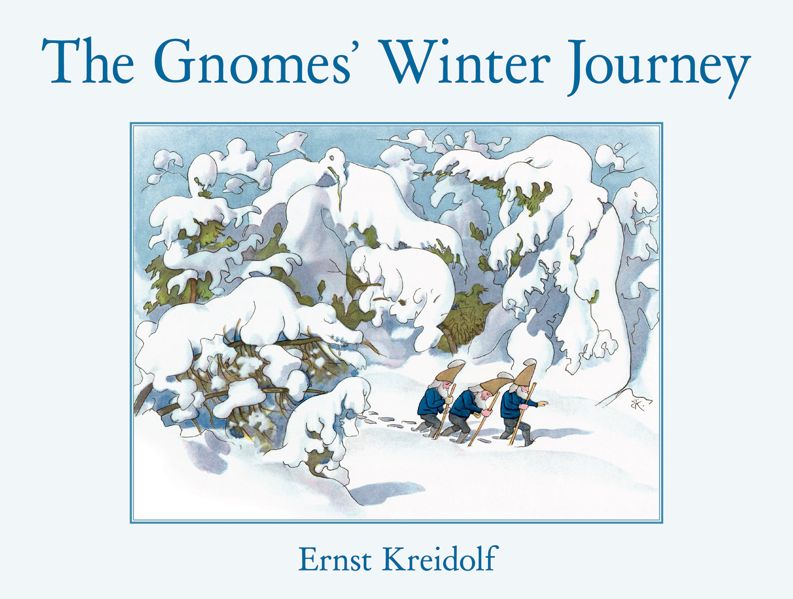 The Gnomes' Winter Journey - Floris Books
