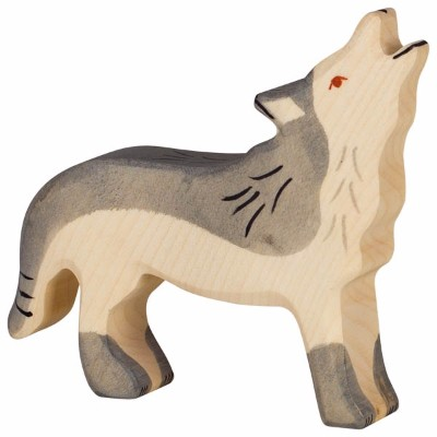 Lobo Uivando - Holztiger