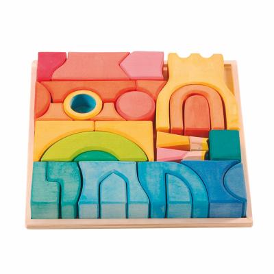 Puzzle Empilhável Castelo Arco-Íris - Ostheimer