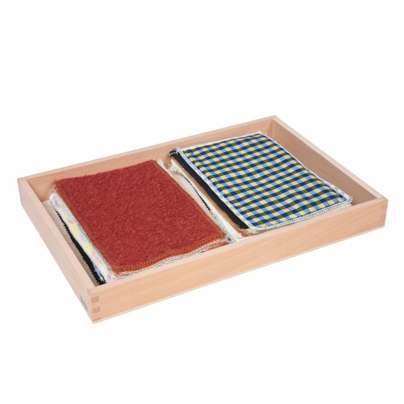 Caixa Sensorial de Tecido - Nienhuis Montessori