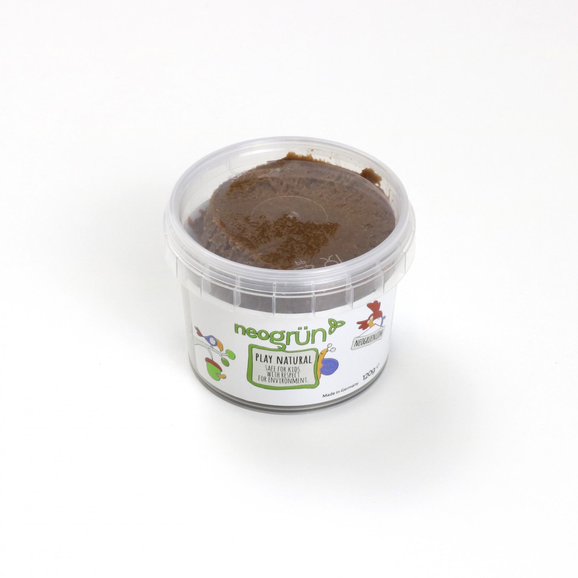CASTANHO Plasticina Infantil Natural e Vegan - Neogrun