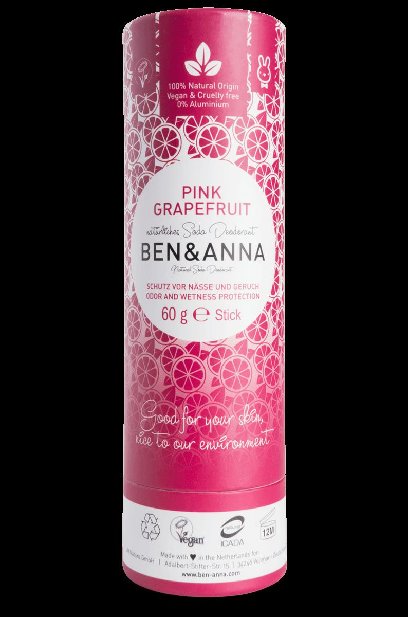 Toranja Rosa Desodorizante Natural - Ben & Anna