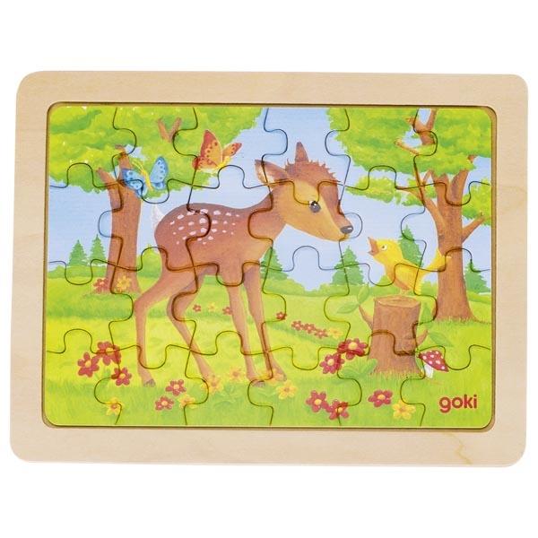 Puzzle de Peças Pequeno Veado - Goki