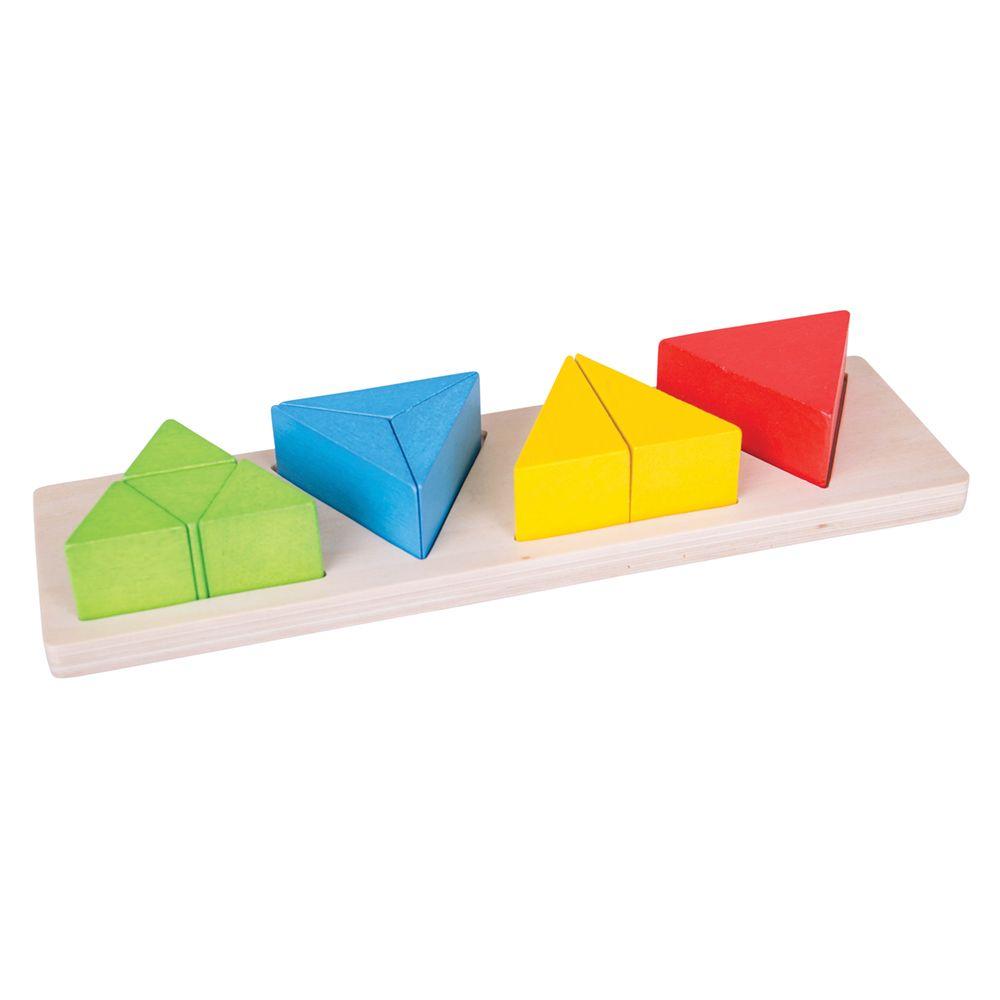 Triângulo de Frações de Encaixar - BigJigs
